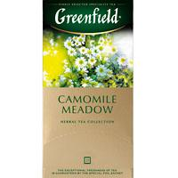 ЧАЙ ГРИНФИЛД Camomile Meadow Ромашковый 1,5 Г*25ПАК*10